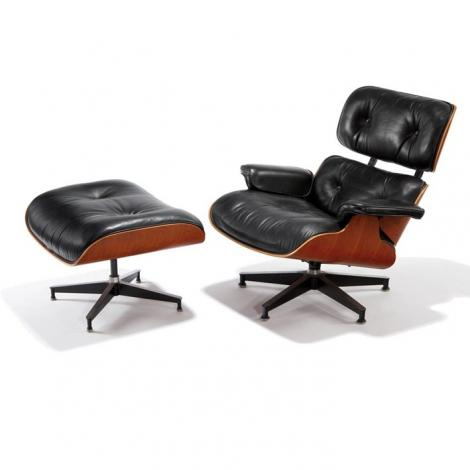 Charles Eames Lounge Chair and ottoman DS302