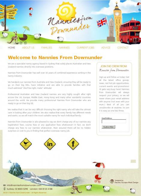 Nannies from Downunder