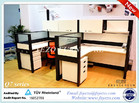 high quality Q7 office modular partition system, modern office partition dividers and workstations