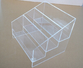 3 tiers acrylic counter display rack/亞加力膠架
