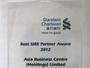 SBC Best SME Partner Award 2012