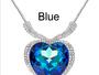 Brilliant Heart Of The Ocean Necklace & Pendant